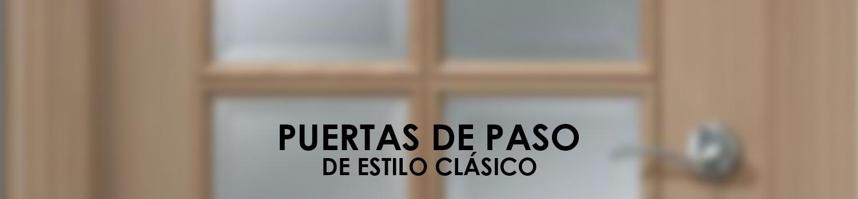 ATZ Reformas Puertas de Paso Clásicas