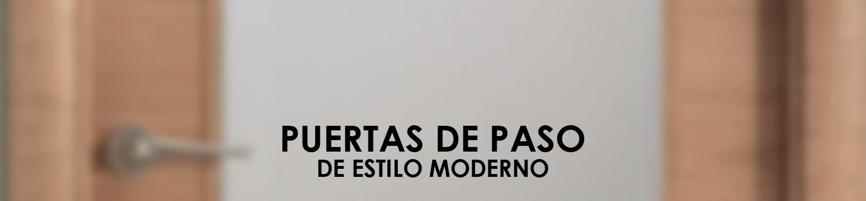 ATZ Reformas Puertas de Paso Modernas